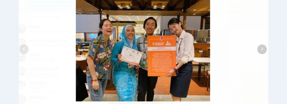 Proposal Terbaik di Asian Pacific Youth Exchange Philippines 2020