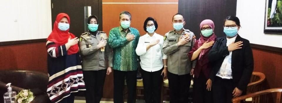 Perjanjian Kerja Sama dengan RS POLRI Said Sukanto