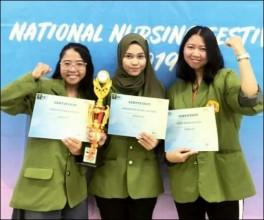 Mahasiswa S1 Keperawatan Mendapatkan Juara III Lomba National Nursing  Cepat Tanggap 2019