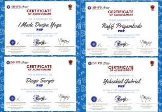 Juara 3 Lomba Pekan Olahraga Sekolah Bisnis Institut Pertanian Bogor 2020 PUBG