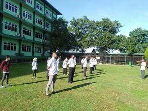 Rapat Koordinasi Pengarahan Pelaksanaan Pembatasan Sosial Berskala Besar (PSBB) di Lingkungan FIKES UPNVJ