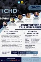 The 2nd International Webinar Conference on Health Development (ICHD)