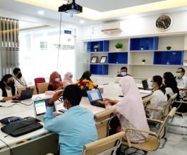 Rapat Koordinasi Antar Unit FIKES terkait dengan Bidang Keuangan untuk mendukung PK Dekan