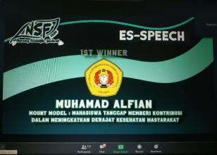 Selamat Kepada Muhamad Alfian berhasil meraih Juara 1 Lomba Nasional Nursing Scientific Festival (NSF) 2020 Himkajaya FK Universitas Brawijaya