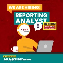 CISDI INTERNSHIP VACANCY : Reporting Analyst Intern