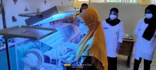 Mahasiswa Program Studi Keperawatan Program Diploma telah Melaksanakan Praktikum Keperawatan Anak