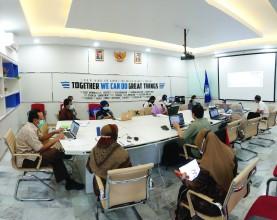 Rapat Koordinasi Unit FIKES dengan Kajur Keperawatan dan Kepala Program Studi terkait Program Kerja