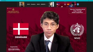 Ahmad Mufazzal Marga Mahasiswa Kesehatan Masyarakat Menjadi Perwakilan dari Indonesia