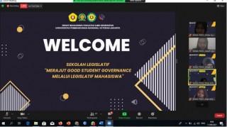 Sekolah Legislatif  2021  Merajut Good Student Governance Melalui Legistatif Mahasiswa BERSAMA MPM UPNVJ