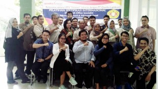 Pelatihan Sertifikasi  Internasional Microsoft Office Spesialits Yang diselenggarakan Oleh Quadra Luminari Bekerjasama dengan UPNVJ