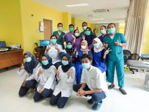 Praktik Klinis Fisioterapi Clinical Educator di RSUD Tarakan dan di RSUD Koja