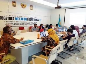 Rapat Koordinasi Bidang Umum dan Keuangan Agenda RKA - K/L TAHUN 2021