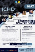 The 2nd International Webinar Conference on Health Development (ICHD) 2020