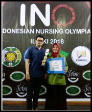 JUARA 1 INDONESIA NURSING OLIMPIADE