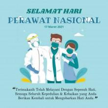 Selamat Hari Perawat Nasional 2021