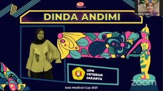 Selamat kepada Dinda Andimi  Mahasiswa Kesehatan Masyarakat Meraih Juara III pada Lomba Tari Tradisional Solo Medical Cup 2021