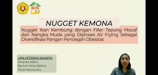 """Gizi Kembali Meraih Juara 2 Lomba Karya Tulis Ilmiah """"Nugget KEMONA"""