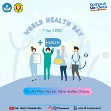 Hari Kesehatan Sedunia atau World Health Day 7 April 2021