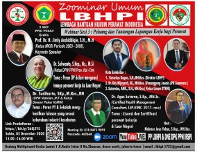 ZOOMINAR UMUM LBHPI ( Lembaga Bantuan Hukum Perawat Indonesia ) Sesi 3