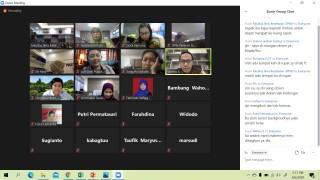 Rapat Koordinasi Penyusunan Buku Pedoman Akademik Tahun Ajaran 2020-2021