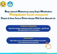 Surat Online Untuk Mahasiswa FIKES UPNVJ