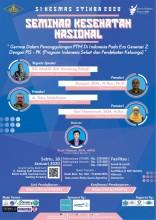 Seminar Kesehatan Nasional S1 Kesehatan Masyarakat Stikes Banten 2020