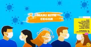 Mari Kite Cegah COVID-19 (Video Edukasi Pencegahan Penularan COVID-19 Bahasa Betawi)