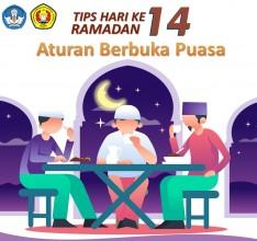 Tips di hari ke 14 Ramadhan tentang Aturan Berbuka Puasa