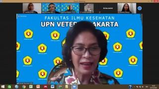 Webinar Nasional Pengurangan Risiko Bencana (PRB) Program Studi Keperawatan UPN Veteran  Jakarta 2020
