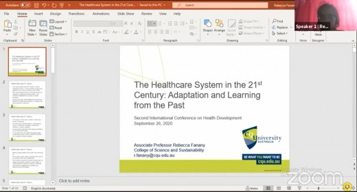 Webinar The 2nd International Conference on Health ...