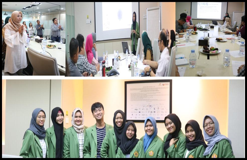 Penyuluhan kepada staf dan karyawan Promosi Kesehatan di PT. Altus Logistic Services Indonesia
