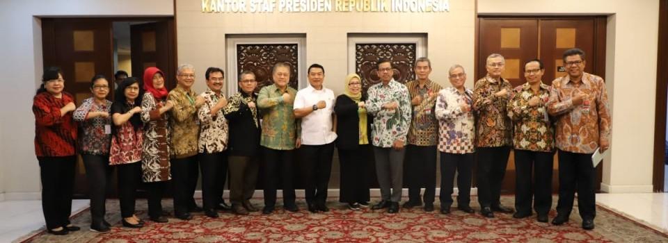 Audiensi Rektor & Senat UPNVJ Dengan Kepala Staf Kepresidenan Indonesia, JenderalTNI(Purn.) Dr. Moeldoko, S.IP.